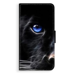 Flipové pouzdro iSaprio Black Puma na mobil Huawei P9 Lite