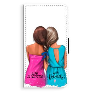 Flipové pouzdro iSaprio Best Friends na mobil Huawei P9 Lite