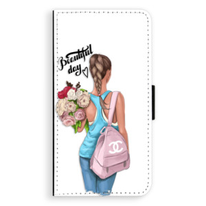 Flipové pouzdro iSaprio Beautiful Day na mobil Huawei P9 Lite