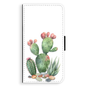 Flipové pouzdro iSaprio Kaktusy 01 na mobil Huawei P9 Lite