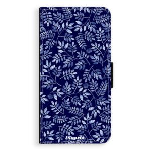 Flipové pouzdro iSaprio Blue Leaves 05 na mobil Apple iPhone 7 Plus