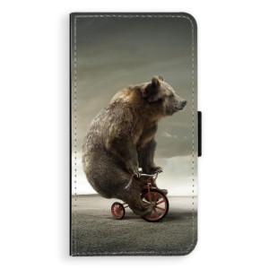 Flipové pouzdro iSaprio Medvěd 01 na mobil Apple iPhone 7 Plus