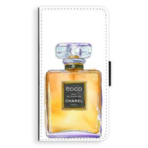 Flipové pouzdro iSaprio Chanel Gold na mobil Apple iPhone 7 Plus