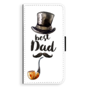Flipové pouzdro iSaprio Best Dad na mobil Apple iPhone 7 Plus