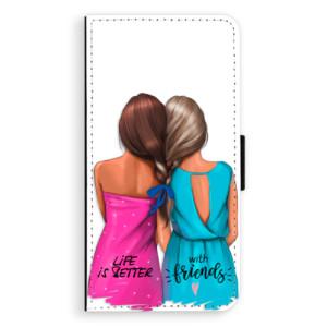 Flipové pouzdro iSaprio Best Friends na mobil Apple iPhone 7 Plus