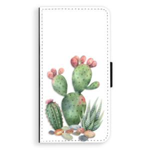 Flipové pouzdro iSaprio Kaktusy 01 na mobil Apple iPhone 7 Plus