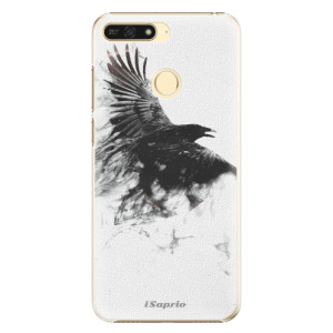 Plastové pouzdro iSaprio Havran 01 na mobil Honor 7A