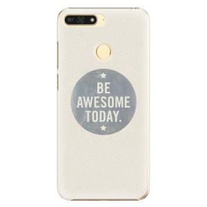 Plastové pouzdro iSaprio Awesome 02 na mobil Honor 7A