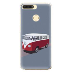 Plastové pouzdro iSaprio VW Bus na mobil Honor 7A