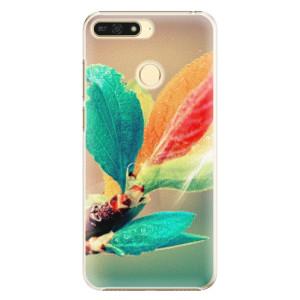 Plastové pouzdro iSaprio Podzim 02 na mobil Honor 7A