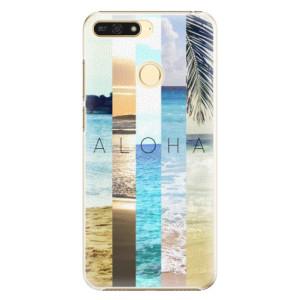 Plastové pouzdro iSaprio Aloha 02 na mobil Honor 7A