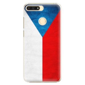 Plastové pouzdro iSaprio Česká Vlajka na mobil Honor 7A
