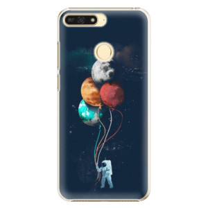 Plastové pouzdro iSaprio Balónky 02 na mobil Honor 7A