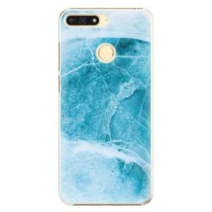 Plastové pouzdro iSaprio Blue Marble na mobil Honor 7A