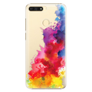 Plastové pouzdro iSaprio Color Splash 01 na mobil Honor 7A