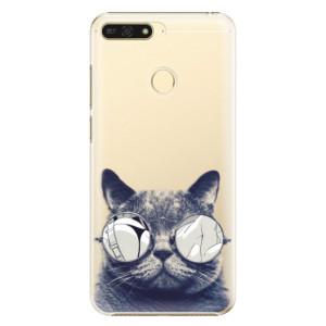 Plastové pouzdro iSaprio Šílená Číča 01 na mobil Honor 7A