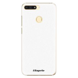 Plastové pouzdro iSaprio 4Pure bílé na mobil Honor 7A