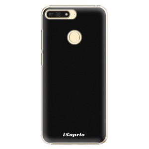 Plastové pouzdro iSaprio 4Pure černé na mobil Honor 7A