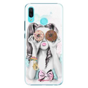 Plastové pouzdro iSaprio Donutky Očiska 10 na mobil Huawei Nova 3