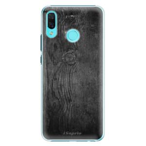 Plastové pouzdro iSaprio Black Wood 13 na mobil Huawei Nova 3