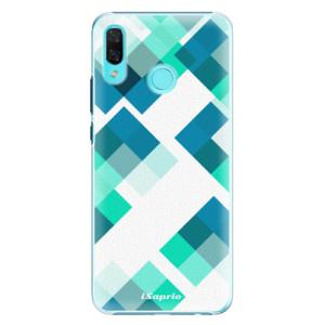 Plastové pouzdro iSaprio Abstract Squares 11 na mobil Huawei Nova 3