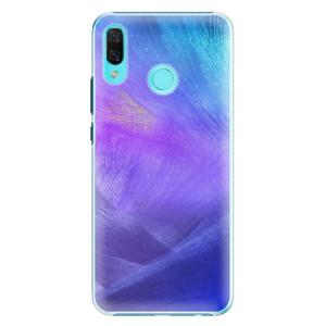 Plastové pouzdro iSaprio Fialové Peří na mobil Huawei Nova 3 - poslední kousek za tuto cenu