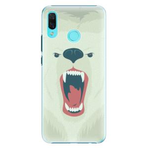 Plastové pouzdro iSaprio Naštvanej Medvěd na mobil Huawei Nova 3