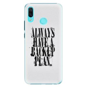 Plastové pouzdro iSaprio Backup Plan na mobil Huawei Nova 3