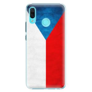 Plastové pouzdro iSaprio Česká Vlajka na mobil Huawei Nova 3