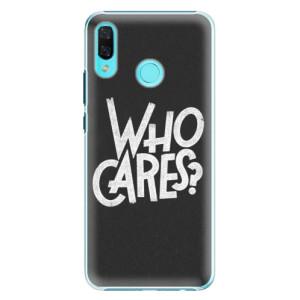 Plastové pouzdro iSaprio Who Cares na mobil Huawei Nova 3
