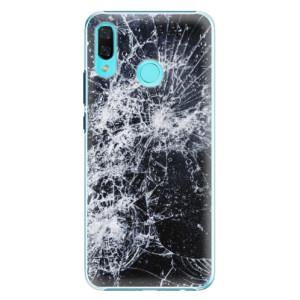 Plastové pouzdro iSaprio Praskliny na mobil Huawei Nova 3