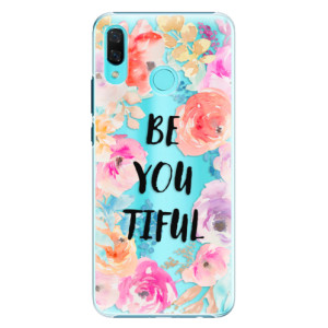 Plastové pouzdro iSaprio BeYouTiful na mobil Huawei Nova 3