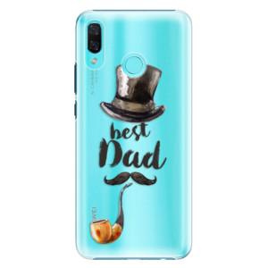 Plastové pouzdro iSaprio Best Dad na mobil Huawei Nova 3