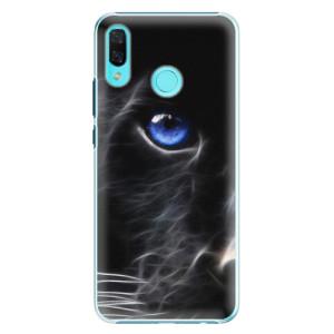 Plastové pouzdro iSaprio Black Puma na mobil Huawei Nova 3