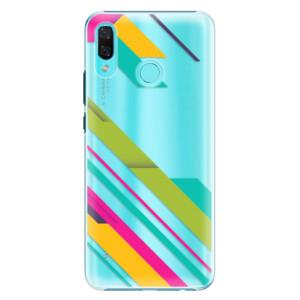 Plastové pouzdro iSaprio Barevné Pruhy 03 na mobil Huawei Nova 3
