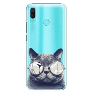 Plastové pouzdro iSaprio Šílená Číča 01 na mobil Huawei Nova 3
