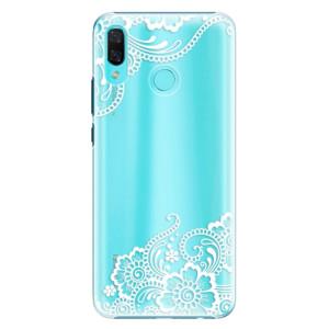 Plastové pouzdro iSaprio Bílá Krajka 02 na mobil Huawei Nova 3