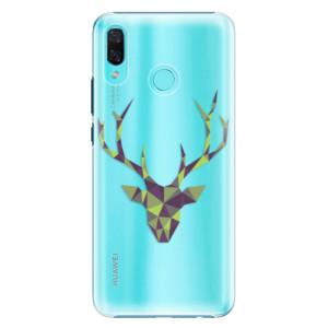 Plastové pouzdro iSaprio Zelený Jelínek na mobil Huawei Nova 3