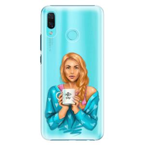Plastové pouzdro iSaprio Coffee Now Zrzka na mobil Huawei Nova 3