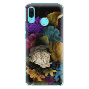 Plastové pouzdro iSaprio Temné Květy na mobil Huawei Nova 3