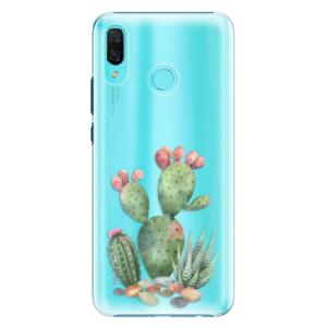 Plastové pouzdro iSaprio Kaktusy 01 na mobil Huawei Nova 3