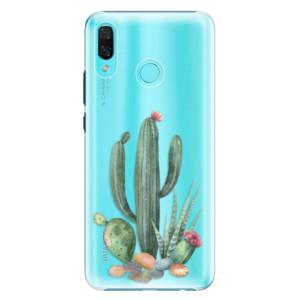 Plastové pouzdro iSaprio Kaktusy 02 na mobil Huawei Nova 3