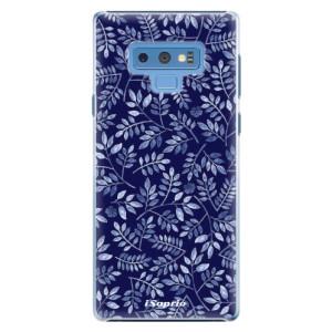 Plastové pouzdro iSaprio Blue Leaves 05 na mobil Samsung Galaxy Note 9