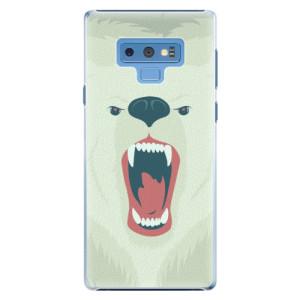 Plastové pouzdro iSaprio Naštvanej Medvěd na mobil Samsung Galaxy Note 9