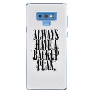 Plastové pouzdro iSaprio Backup Plan na mobil Samsung Galaxy Note 9