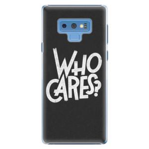 Plastové pouzdro iSaprio Who Cares na mobil Samsung Galaxy Note 9
