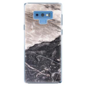 Plastové pouzdro iSaprio BW Mramor na mobil Samsung Galaxy Note 9