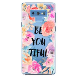 Plastové pouzdro iSaprio BeYouTiful na mobil Samsung Galaxy Note 9