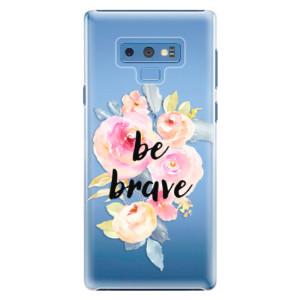 Plastové pouzdro iSaprio Be Brave na mobil Samsung Galaxy Note 9