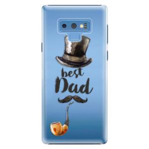 Plastové pouzdro iSaprio Best Dad na mobil Samsung Galaxy Note 9